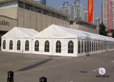 Luxury Waterproof PVC Outdoor Canopy Tent , Large Event Tents With Aluminium Alloy Frame