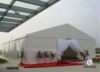 Outdoor Luxury Wedding Event Tents 20 x 20m / Romantic Transprant Wedding Tent